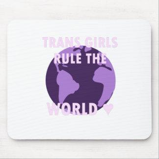 Mousepad As meninas do transporte ordenam o mundo (v1)