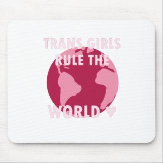 Mousepad As meninas do transporte ordenam o mundo (v2)