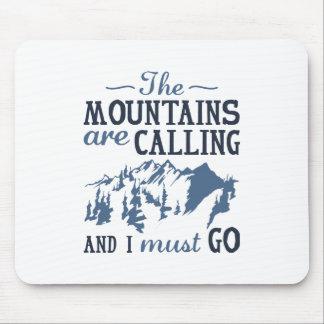 Mousepad As montanhas estão chamando