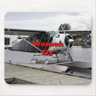 Mousepad As mulheres voam: plano 1 do flutuador, Alaska