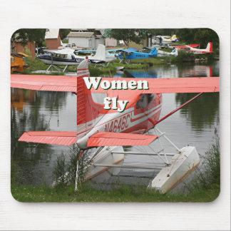 Mousepad As mulheres voam: plano 23 do flutuador, Alaska