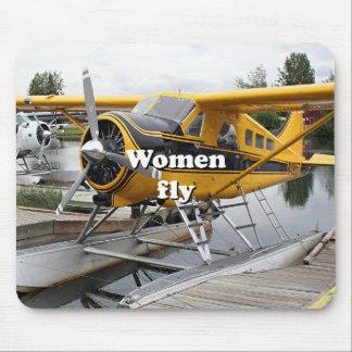 Mousepad As mulheres voam: plano do flutuador, capa do