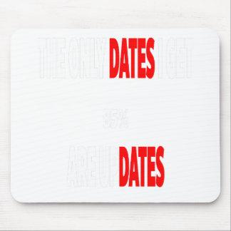 Mousepad As únicas datas onde eu obtenho são actualizações