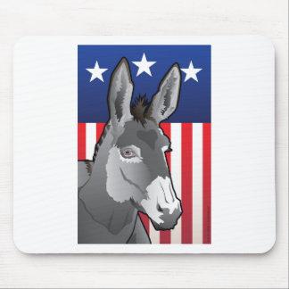 Mousepad Asno dos EUA, orgulho de Democrata