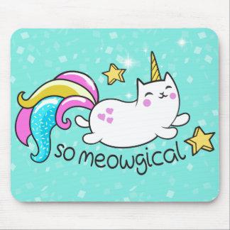 Mousepad Assim sparkles bonitos do brilho do gatinho do