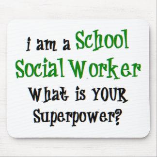 Mousepad assistente social da escola