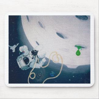 Mousepad Astronauta e lua