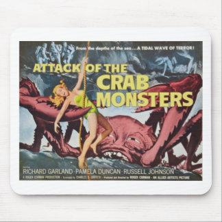 Mousepad Ataque do monstro do caranguejo