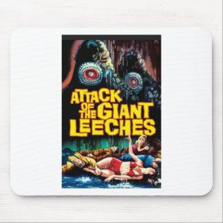 Mousepad Ataque dos Leeches gigantes