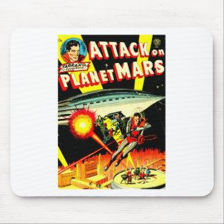 Mousepad Ataque no planeta Marte