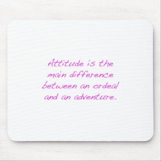 Mousepad Atitude - calvário ou aventura