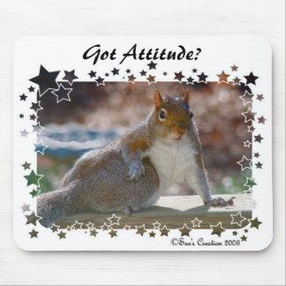 Mousepad Atitude obtida? Esquilo