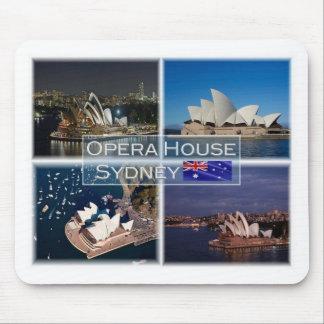 Mousepad AU Austrália - Sydney - teatro da ópera -