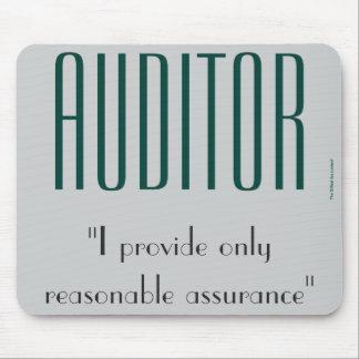 """Mousepad """"Auditor: Eu ofereço somente a garantia razoável """""""