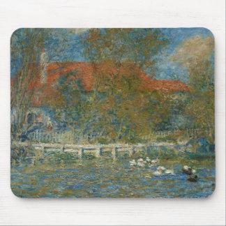 Mousepad Auguste Renoir - a lagoa do pato