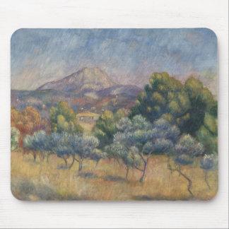 Mousepad Auguste Renoir - a montanha de Sainte-Victoire