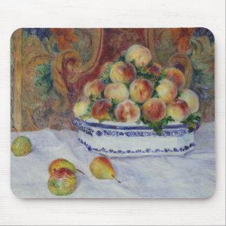 Mousepad Auguste Renoir - ainda vida com pêssegos