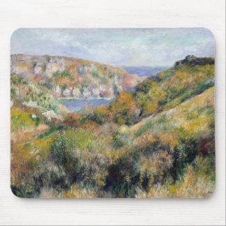 Mousepad Auguste Renoir - colinas em torno da baía