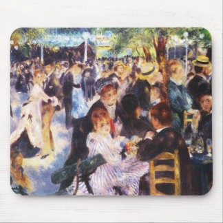 Mousepad Auguste Renoir - dance no la Galette de Le moulin