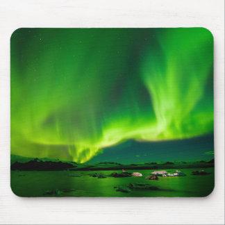 Mousepad Aurora boreal de Islândia