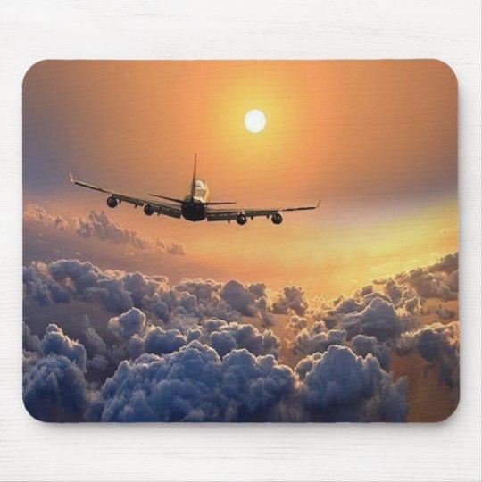 MousePad - Aviacão com pôr-do-sol