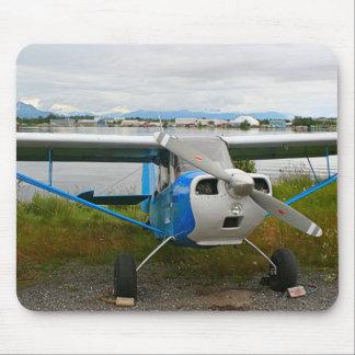 Mousepad Aviões altos da asa, azul & branco, Alaska