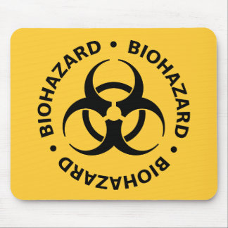 Mousepad Aviso do Biohazard