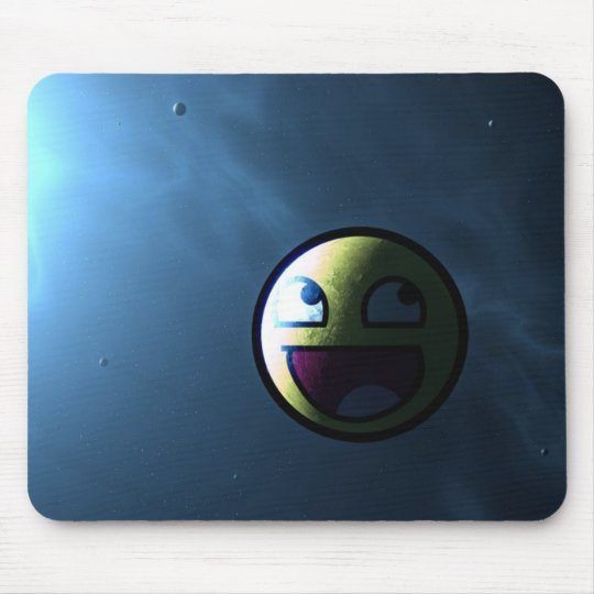 Mousepad Awesome face