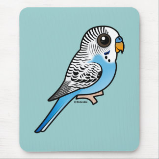 Mousepad Azul de Birdorable Budgie