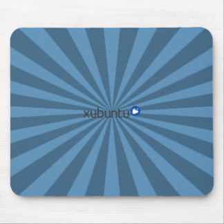 Mousepad Azul StarBurst de Xubuntu Linux