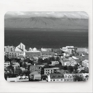 Mousepad B&W Reykjavik
