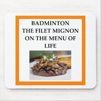 Mousepad badminton
