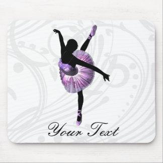 Mousepad Bailarina bonita no roxo