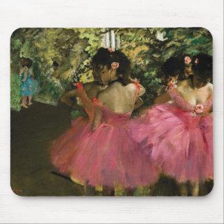 Mousepad Bailarinas no rosa por Edgar Degas
