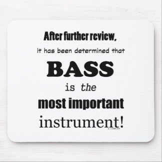 Mousepad Baixo a maioria de instrumento importante