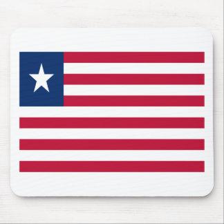 Mousepad Baixo custo! Bandeira de Liberia