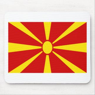 Mousepad Baixo custo! Bandeira de Macedónia