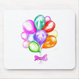 Mousepad Balões coloridos infláveis
