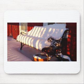 Mousepad Banco coberto de neve
