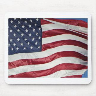 Mousepad Bandeira americana, azul branco vermelho da