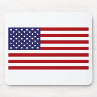 Mousepad Bandeira americana - bandeira dos Estados Unidos -