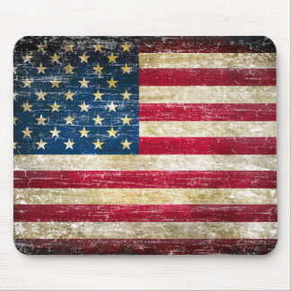 Mousepad Bandeira americana do Grunge