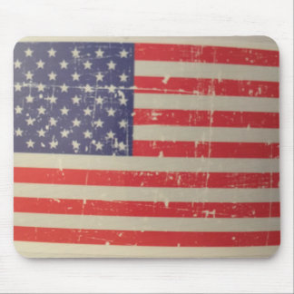 Mousepad Bandeira americana resistida, afligida dos EUA