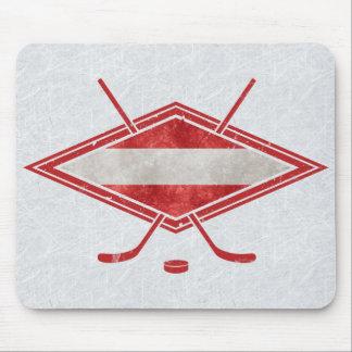 Mousepad Bandeira austríaca Österreich Mousemat do hóquei