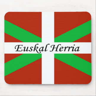 Mousepad Bandeira Basque com o tapete do rato de Euskal