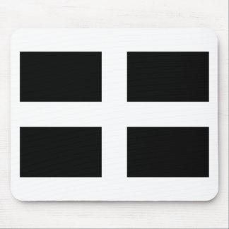 Mousepad Bandeira da Cornualha de Piran Cornish do santo -