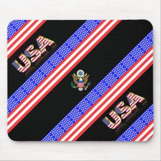 Mousepad Bandeira das listras dos Estados Unidos
