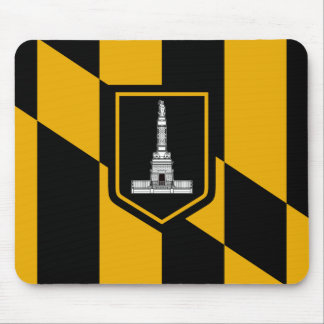 Mousepad Bandeira de Baltimore, Maryland