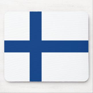 Mousepad Bandeira de Finlandia