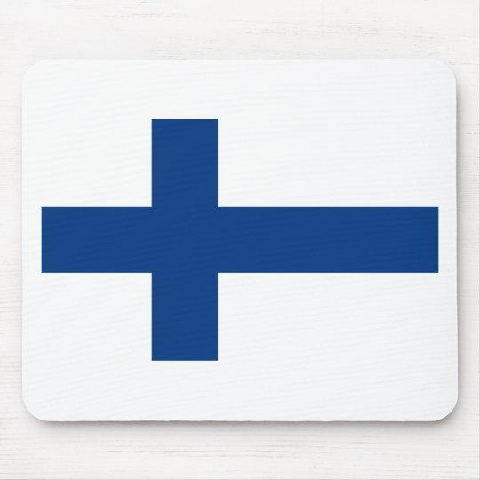 Mousepad Bandeira de Finlandia (lippu de Suomen, flagga de